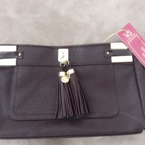 NWT Victoria's Secret Purple Clutch Bag
